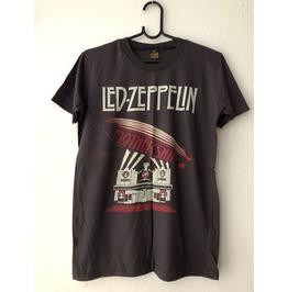Led Zeppelin Rock New Wave Punk T Shirt M
