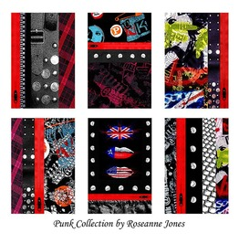 Punk Collection - Six Signed Prints by Roseanne Jones