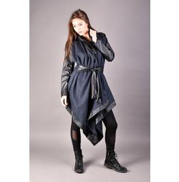 Hooded Vest, Asymmetrical Vest, Long Vest, Women Vest, Hooded Coat
