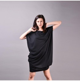 Gothic Black Dress, Party Dress, Summer Dress, Loose Dress