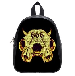 666 Number Of The Beast Back Pack