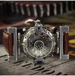 Steampunk Vintage Stainless Steel Watch