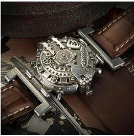 Steampunk Vintage Gear Stainless Steel Watch