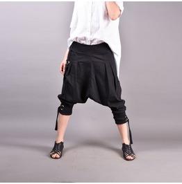 Harem Pants, Boho Pants, Drop Crotch Pants, Loose Pants, Baggy Pants