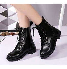 Casual Lace up Women Boots
