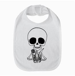 Cute Skeleton Baby Bib