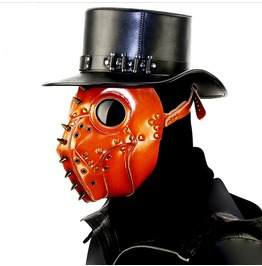 Halloween Steampunk Plague Doctor Mask Cosplay Bar Party Props Gift