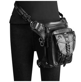Punk New Women's Bag Shoulder Messenger Bag Mobile Phone Pocket