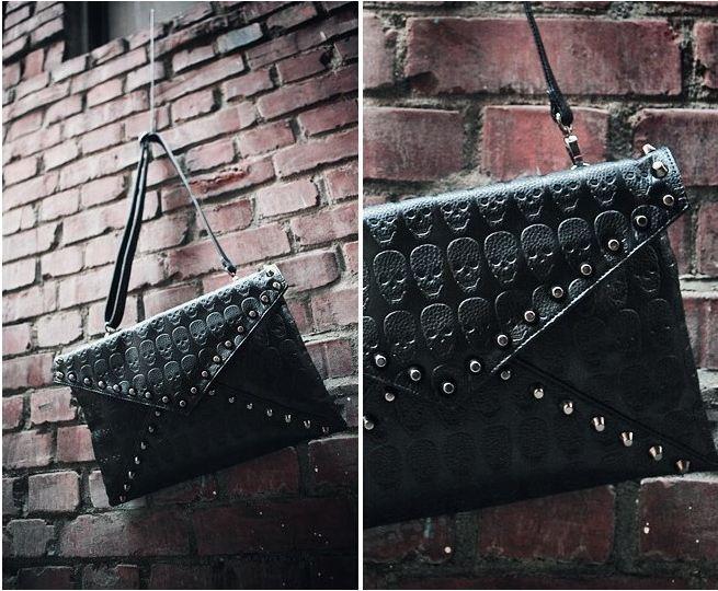 skull_pattern_rivets_slim_shoulder_handbag_purses_and_handbags_5.JPG