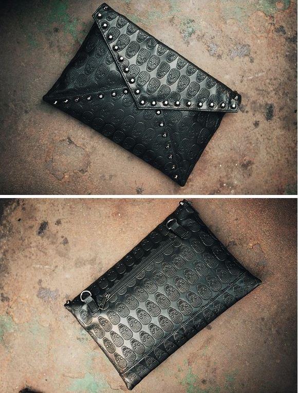 skull_pattern_rivets_slim_shoulder_handbag_purses_and_handbags_4.JPG
