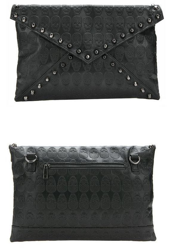 skull_pattern_rivets_slim_shoulder_handbag_purses_and_handbags_2.JPG