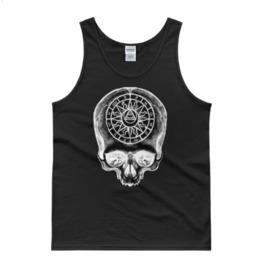 Zodiac Skull Tank Top