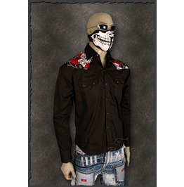 Mens rockabilly clothing men edgy shirts for sale at