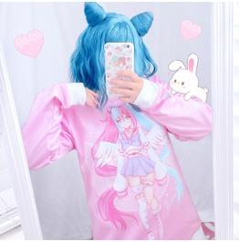 Pastel Goth Sweatshirt Fairy Kei Clothing Pastel Gore Yami