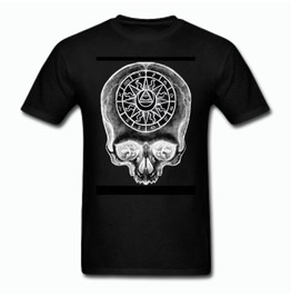 Astrology Skull Tee Shirt