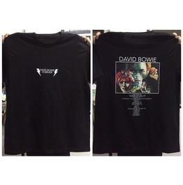 David Bowie 5 Punk Rock T Shirt Free Size