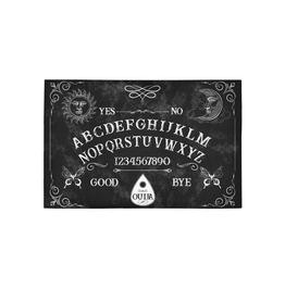 Halloween Rug Ouija Board Gothic Home Decor Ouija Area Rug Halloween Decor