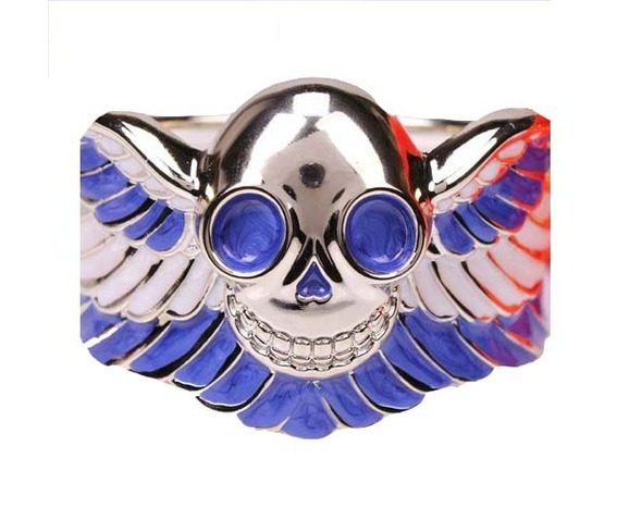 cool_good_quality_blue_skull_bracelet_bracelets_and_wristbands_2.jpg