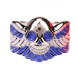 Cool Good Quality Blue Skull Bracelet