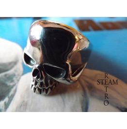 Gothic Skull Biker Ring Gothic Steamretro