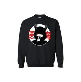 Anime Demon Sweatshirt Harajuku Aesthetic Japanese Sweatshirt