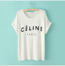 Simple Design 2013 Fashion Women T Shirt