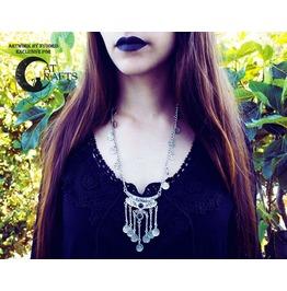 Boho Gypsy Long Necklace