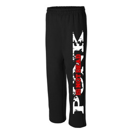 Punk is not dead sweat pants 5026 rebelsmarket