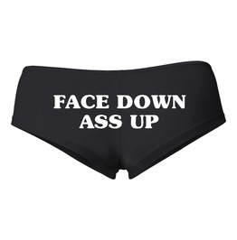FACE DOWN ASS UP Booty Shorts # 636