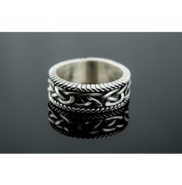 Norse Ornament Ring, Scandinavian Style, Norse Jewelry, Viking Style