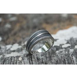 Viking Ornament Ring, Scandinavian Style, Norse Ornament, Viking Style
