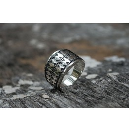 Norse Ornament Ring, Scandinavian Style, Norse Ornament, Viking Jewelry