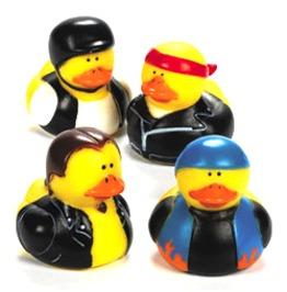 Mean Bikers Rubber Duckies Motorcycle Duck Gang