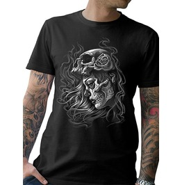 """New Men's """"MISERY"""" Black T-Shirt"""