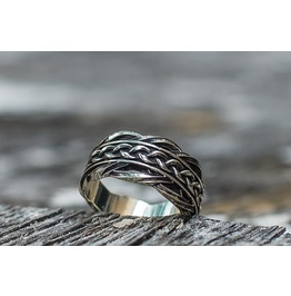 Ornament Ring, Scandinavian Ornament, Norse Style, Viking Jewelry