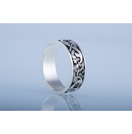 Norse Ring, Scandinavian Ornament, Norse Style, Viking Jewelry