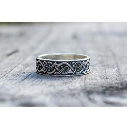 Ornament Ring, Scandinavian Style, Norse Ornament, Viking Jewelry