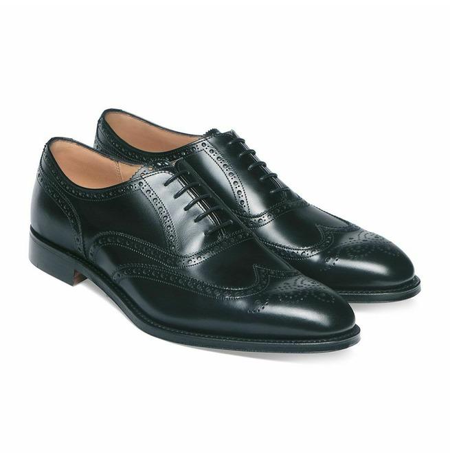 Rismart Mens Uniform Dress Brogue Wing Tip Split Leather Lace-ups Shoes  Men's Shoes Lace-ups