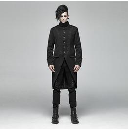 Men's Gothic Dove-Tail Mid-Length Coat