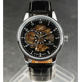 Stylish Design Skeleton Unisex Watch
