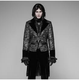 Men's Gothic Brocade Swallow Tailcoat