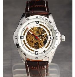 Stylish Design Skeleton Unisex Watch