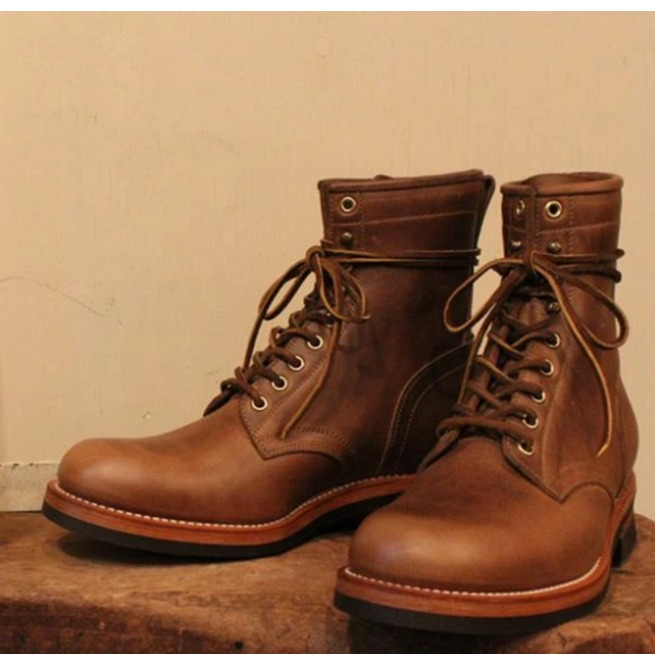Mens Goodyear Welted Antique Color