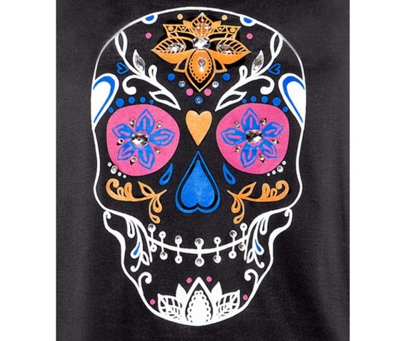 black_skull_pattern_women_t_shirt_tees_2.jpg