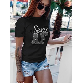 "NEW ""SEXY AF"" LADIES TEE"