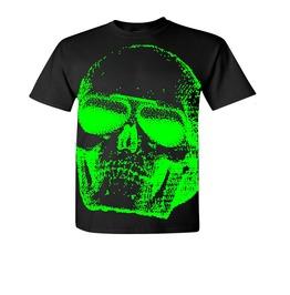 AVIATOR SKULL T-Shirt # 266