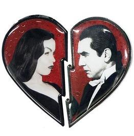 Bela Loves Vampira Broken Heart Pin Set