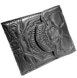 Skull Ribcage Bi Fold Wallet