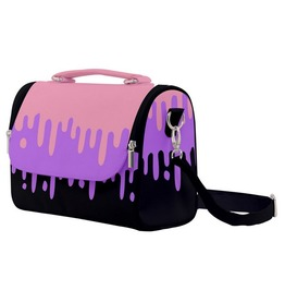 Pastel Goth Slime Dripping Shoulder Bag