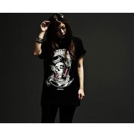 Rock Style Skull Style T Shirt Punk Tee